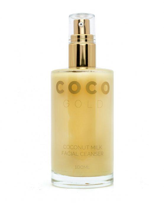 cocogold coconut milk facial cleanser